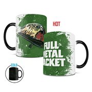 Full Metal Jacket Born to Kill Heat-Sensitive Morphing Mug