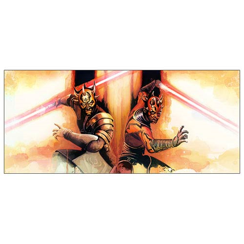 Star Wars Brothers Maul and Opress Paper Giclee Print