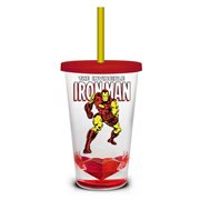 Marvel Retro Iron Man Shatter-Proof Travel Cup