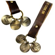 BioShock Rapture Plasmids Brass Tokens Key Chain