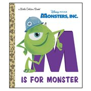 Monsters, Inc. M Is for Monster Little Golden Book