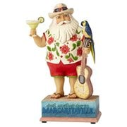 Margaritaville Strummin' With Santa Musical Heartwood Creek Statue by Jim Shore