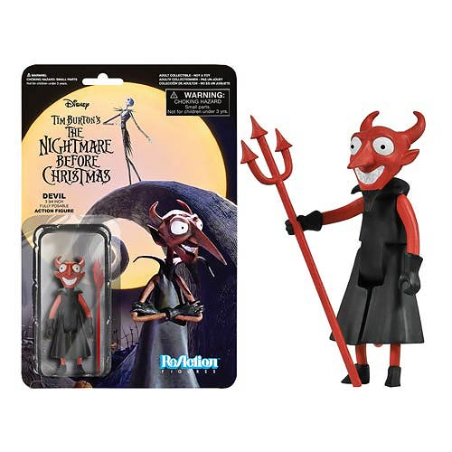 The Nightmare Before Christmas The Devil ReAction 3 3/4-Inch Retro Action Figure