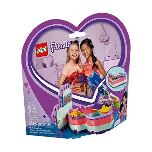 LEGO 41385 Friends Emma's Summer Heart Box