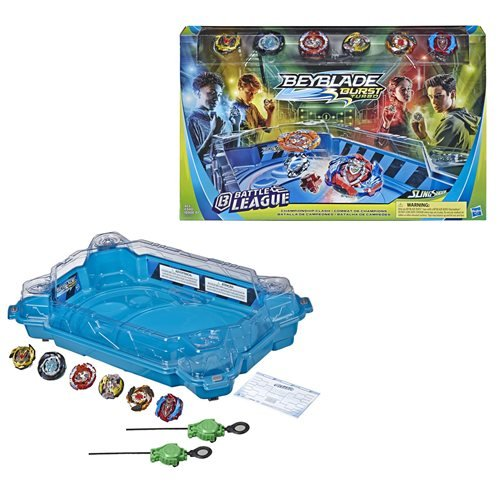 Beyblade Burst Turbo Battle League Slingshock Championship Clash
