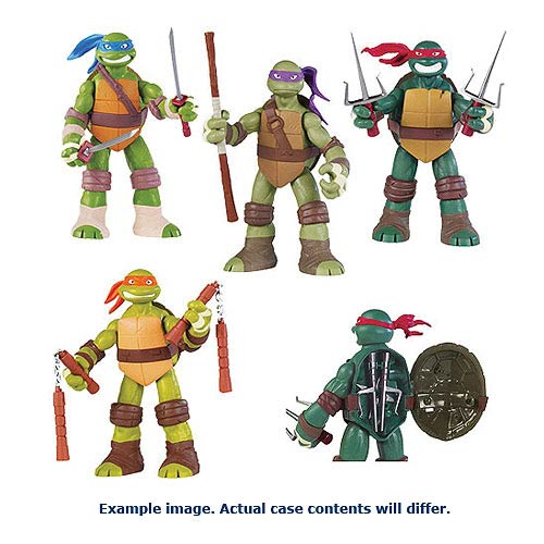 Teenage Mutant Ninja Turtles Battle Shell Action Figure Case