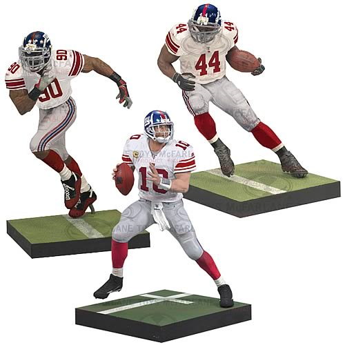 NFL New York Giants Action Figure 3-Pack - Entertainment Earth 5ccdd9da3
