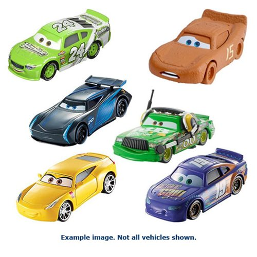 Cars 3 Character Cars 2017 Mix 2 Case