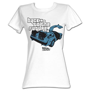 Back to the Future GTA Parody White T-Shirt