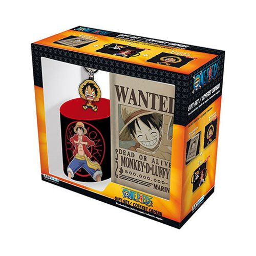 One Piece Monkey D. Luffy Gift Set
