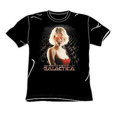 Battlestar Galactica Six and Cylon Legion T-Shirt