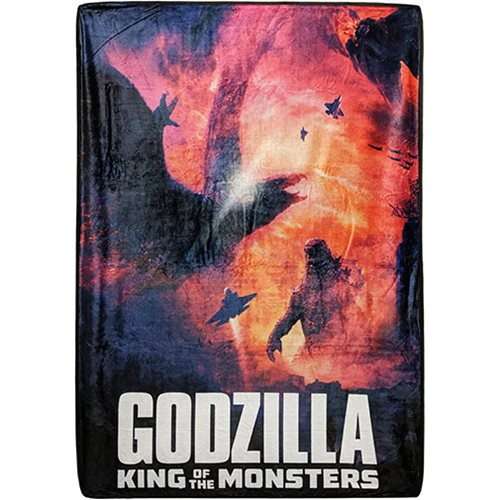 Godzilla Fleece Blanket