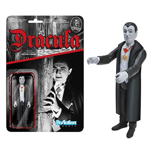 Universal Monsters Dracula ReAction 3 3/4-Inch Retro Action Figure