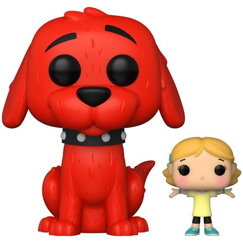 Clifford the Big Red Dog with Emily Pop! Vinyl Figure