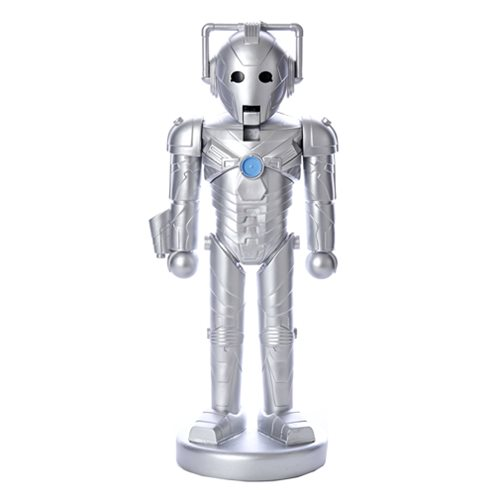Doctor Who Cyberman 10 1/4-Inch Nutcracker