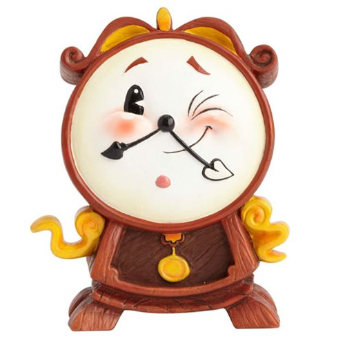Disney The World of Miss Mindy Beauty and the Beast Cogsworth Statue