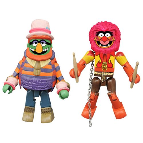 Muppets Minimates Series 2 Dr. Teeth and Animal 2-Pack