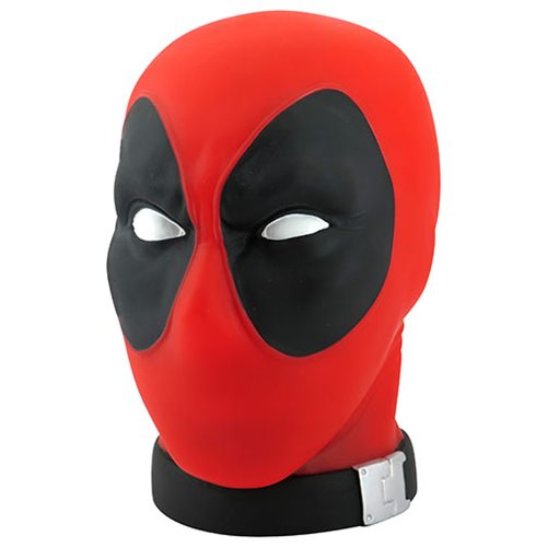 Deadpool Head PVC Bank