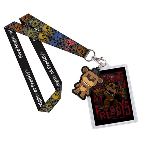 Five Nights at Freddy's Freddy Pop! Lanyard