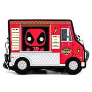 Deadpool 30th Anniversary Chimichanga Food Truck Pop! by Loungefly Crossbody Purse
