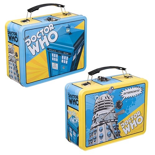 Doctor Who Comic Book Large Tin Tote