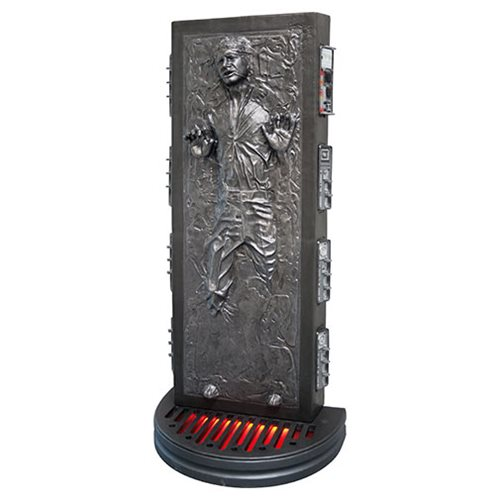 Star Wars Han Solo in Carbonite Life-Size Foam Statue