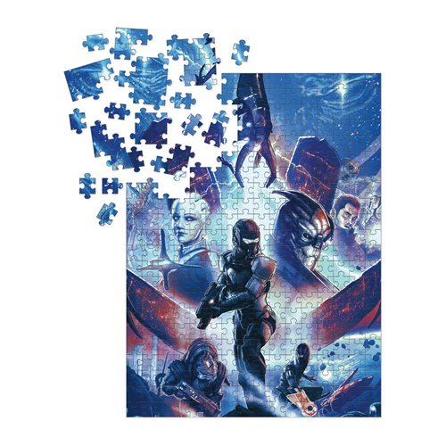 Mass Effect Heroes 1000-Piece Puzzle