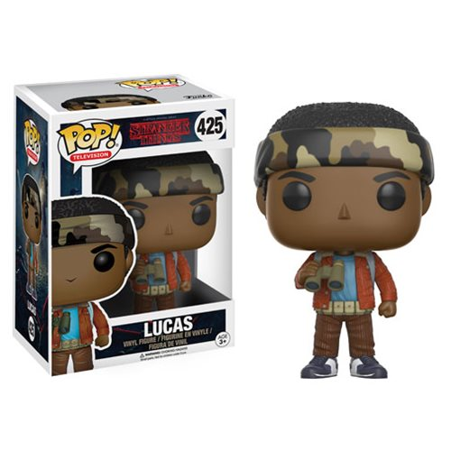 Stranger Things Lucas Pop! Vinyl Figure, Not Mint