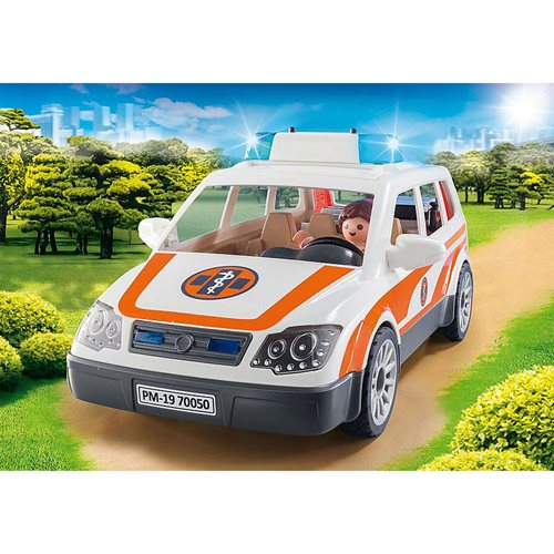 Playmobil 70050 Rescue 911 Emergency Car with Siren