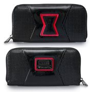 Black Widow Zip-Around Wallet