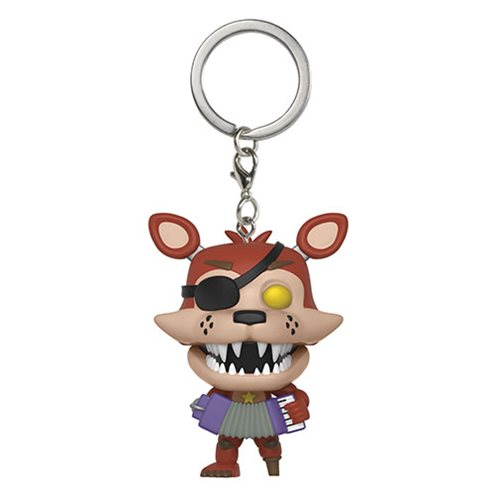 Five Nights at Freddy's: Pizza Simulator Rockstar Foxy Pocket Pop! Key Chain