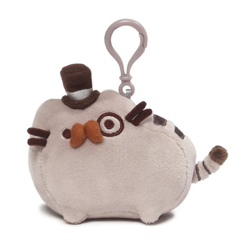 Pusheen the Cat Dapper Clip-On Backpack Plush