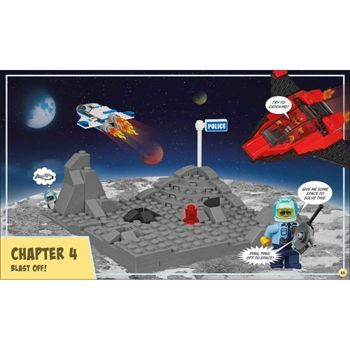 LEGO City Build Your Own Adventure Catch the Crooks Book