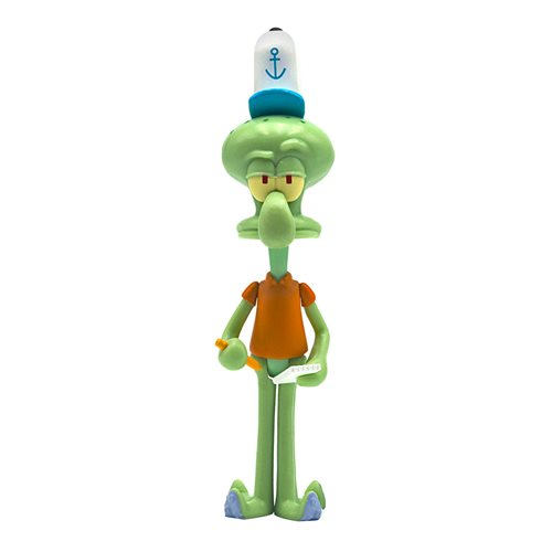 SpongeBob SquarePants Squidward 3 3/4-Inch ReAction Figure