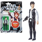 Star Wars The Retro Collection Han Solo Action Figure, Not Mint