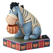 Disney Traditions Eeyore in Mummy Costume Melancholy Mummy Statue by Jim Shore