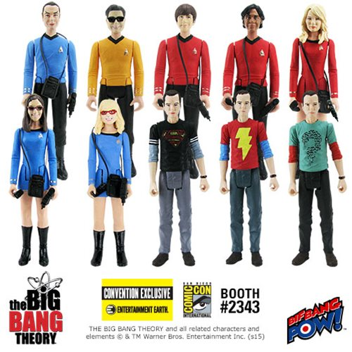 The Big Bang Theory / Star Trek: The Original Series 3 3/4-Inch Action Figures Case Series 2 - Convention Exclusive