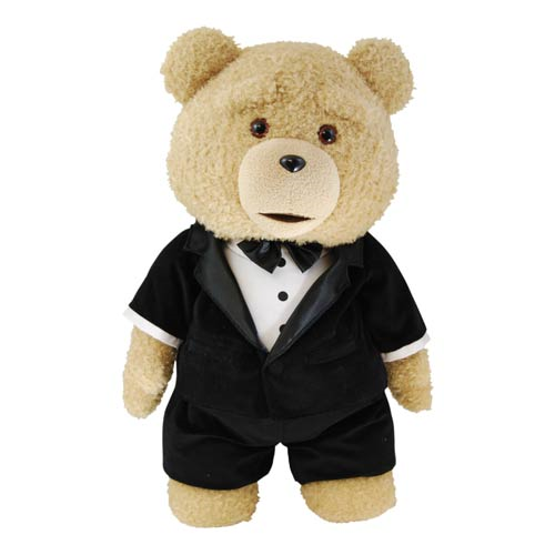 Ted in Tuxedo Limited Edition 24-Inch Talking Plush Teddy Bear