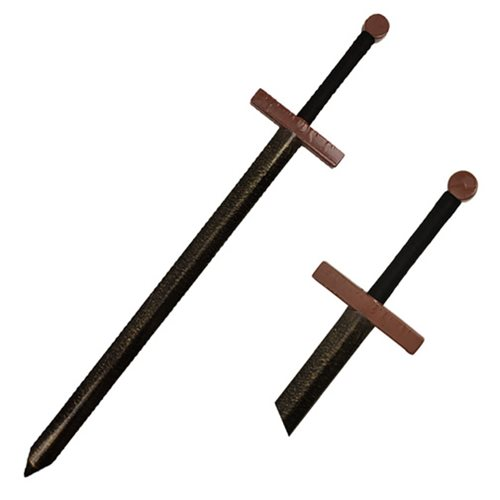 Hero's Edge Medieval Brown Guard Foam Sword