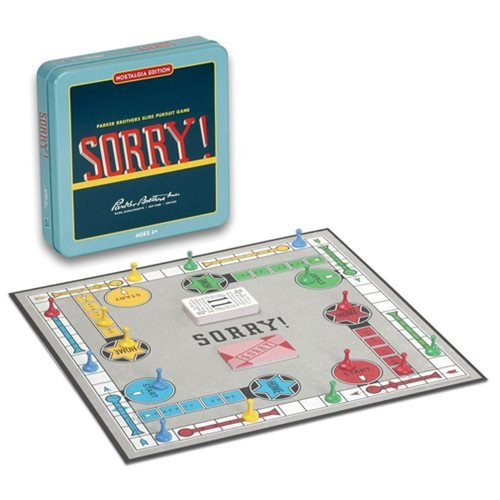 Sorry! Nostalgia Tin Board Game