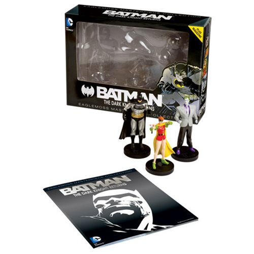 DC Masterpiece Series 4 Dark Knight Returns Statues with Collector Magazine