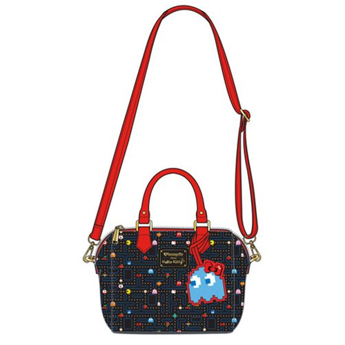 Hello Kitty Pac-Man Maze Crossbody Purse