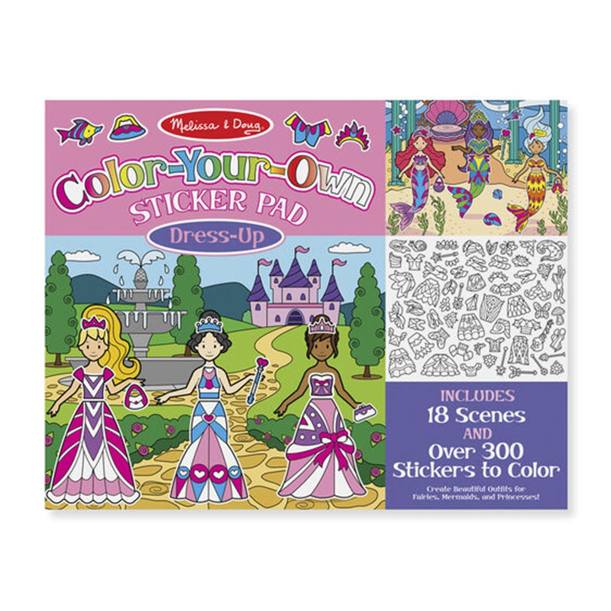 Melissa /& Doug Free Shipping! Rainbow Stamp Pad