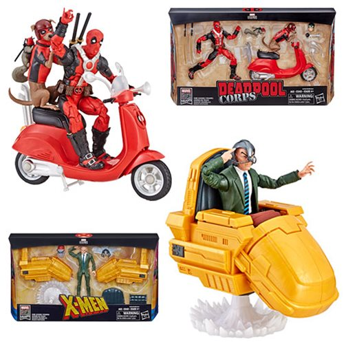 Marvel Legends Ultimate Action Figures with Vehicles Wave 1