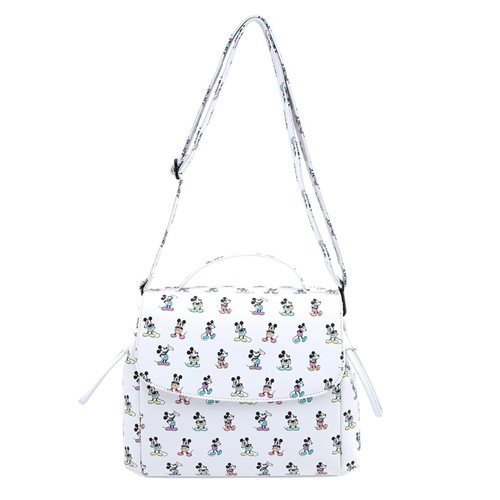 Disney Mickey Mouse Pastel Poses Crossbody Purse