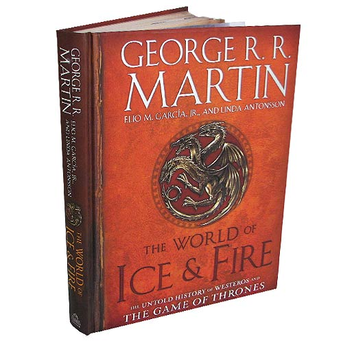 Game of Thrones The World of Ice & Fire: The Untold History of Westeros Hardcover Book