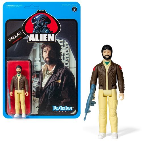 Alien Dallas (Blue Card) 3 3/4-Inch ReAction Figure