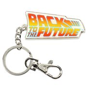 Back to the Future Logo Keychain