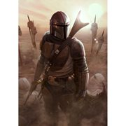 Star Wars: The Mandalorian The Calm After by Carlos Dattoli Lithograph Art Print