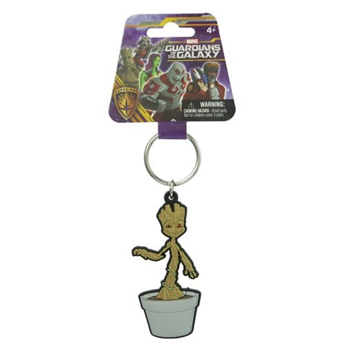 Guardians of the Galaxy Baby Groot Soft Touch Key Chain